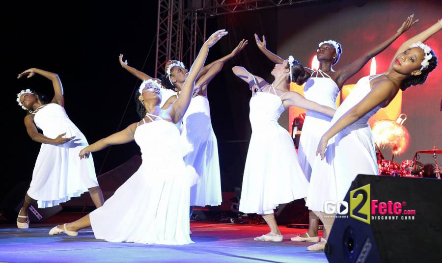 Dancers Performing at Concert