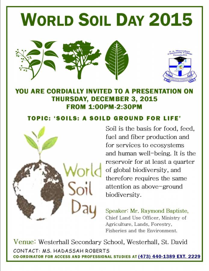 World Soil Day 2015