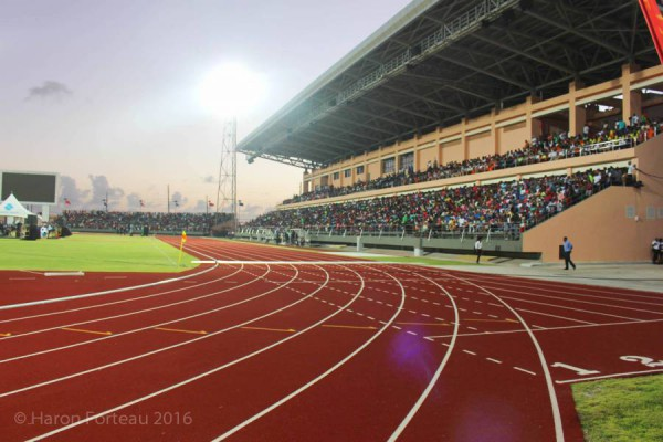 Opening of the Grenada Athletic Stadium on Saturday, 23 January 2016