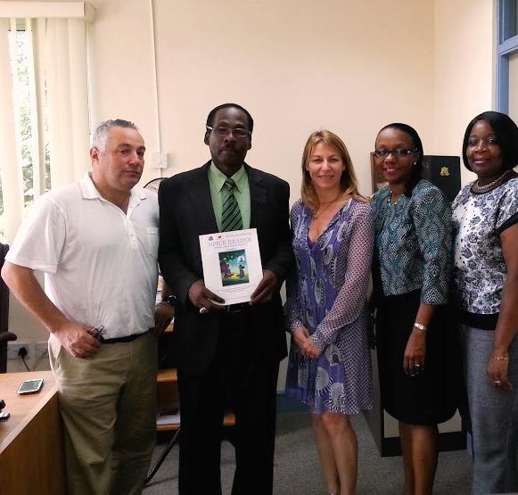 Hon. Boatswain and GSI representatives