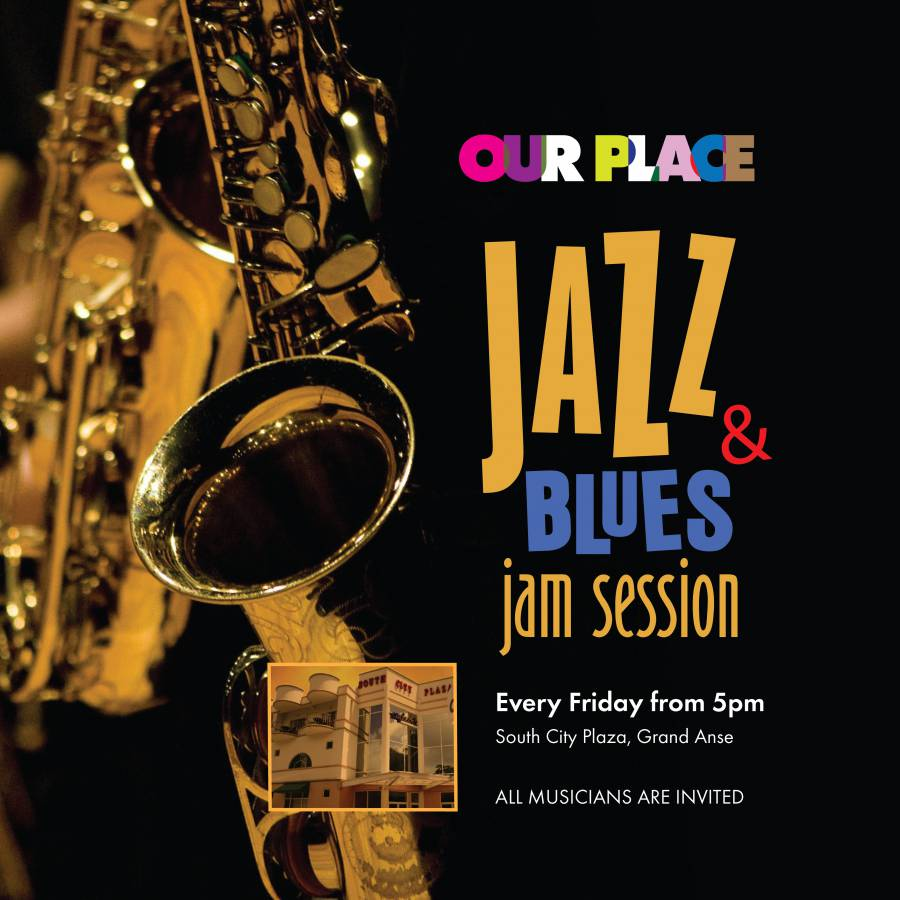 Our Place-Jazz_Blues 4'x4' Poster-01
