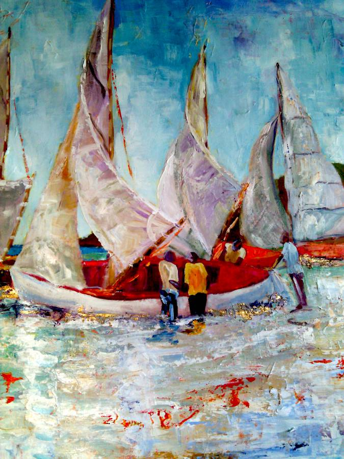 Susan Mains — Sailing on Gold