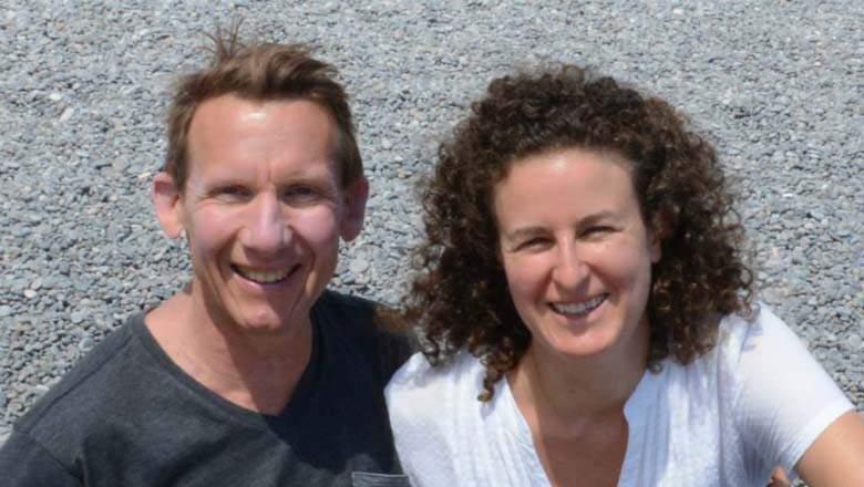 Jessica Colker and her husband Brian Van Melito