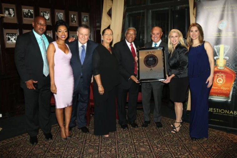 14 Apr16 - Spice Island Beach Resort & Sir Royston Hopkin receive Six Star Diamond Award