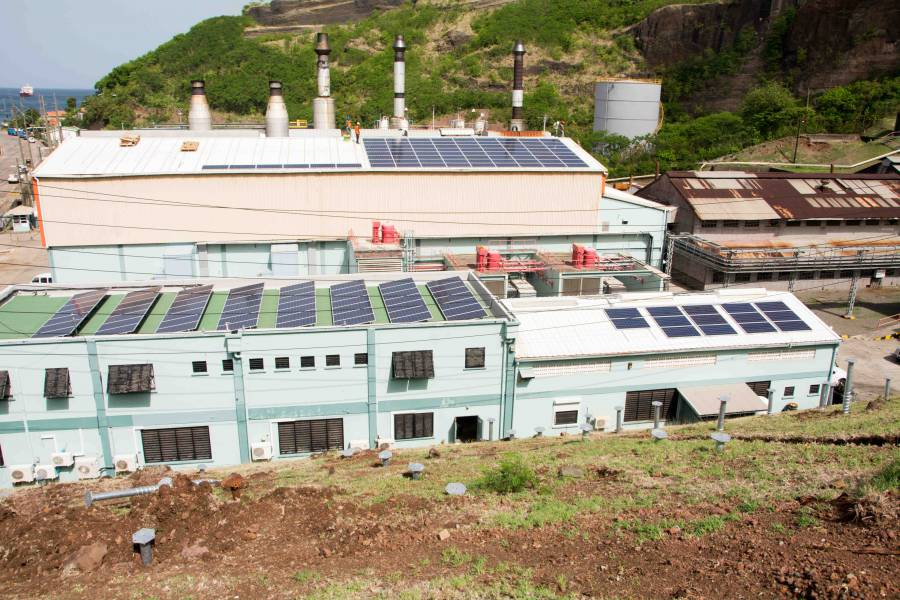 Grenlec S Largest Solar Project Under Construction Now