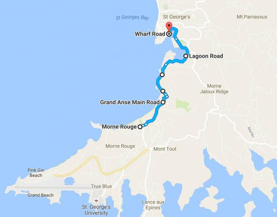 Run de Spice Marathon and 5km Route