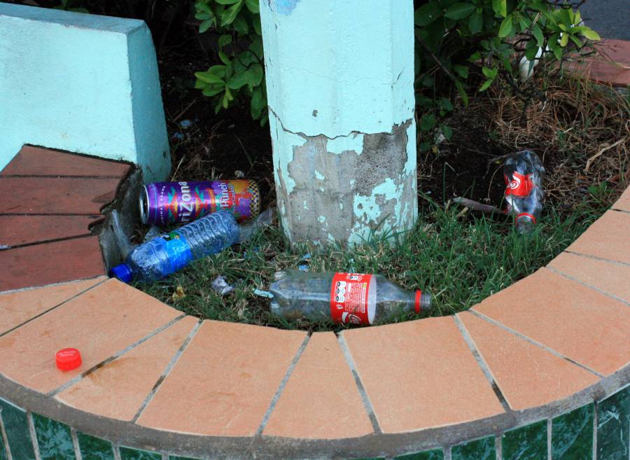 Photography of Litter on the Carenage