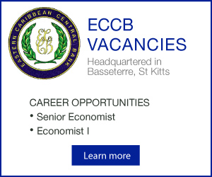 ECCB Economist Vacancy