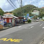 Police Move Grand Anse Bus Stop at 'Wall Street'