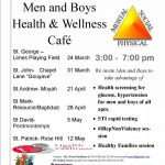 """""""Making a Difference for Men & Boys"""" Men and Boys Health and Wellness Programme"""